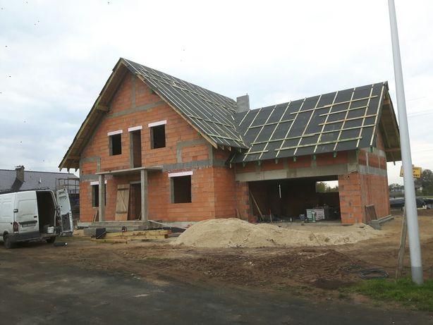 Budowa domow ,docieplenia , dekarstwo ,ciesirlstwo wiazary,kompleksow