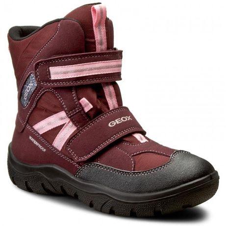 Зимние мембранные термо ботинки geox