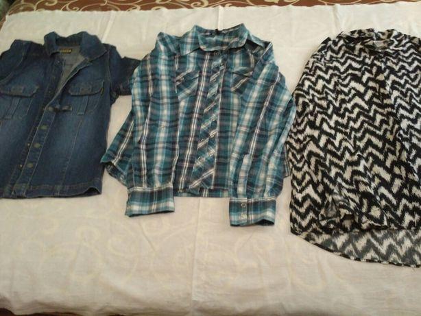 Продам женские рубашки в хорошем состоянии