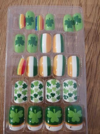 Tipsy irlandzkie zielone kolorowe