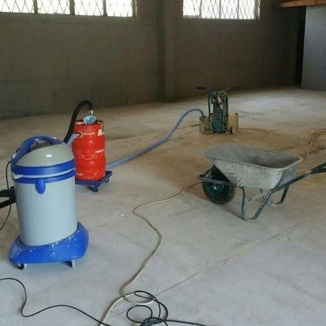 Шлифовка,фрезеровка,ремонт бетонных полов,полимерные покрытия