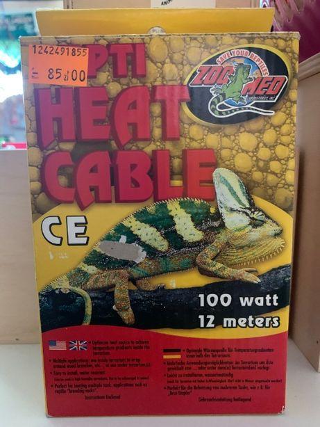 Kabel grzewczy do terrarium Zoo Med 100W 12m
