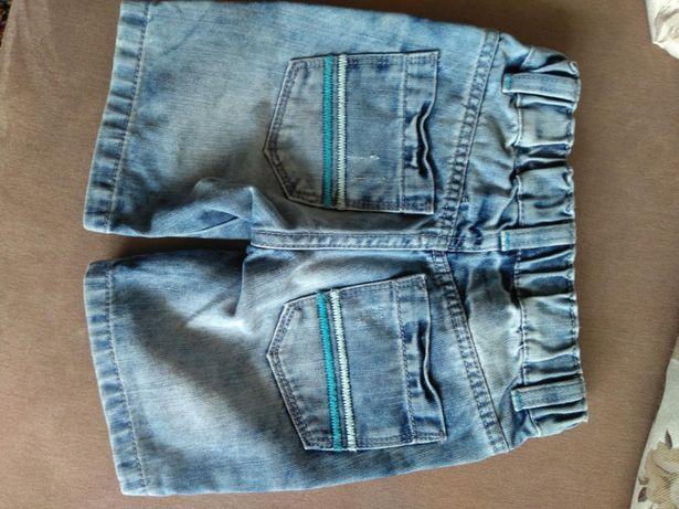 Джинсові шортики для маленького модника