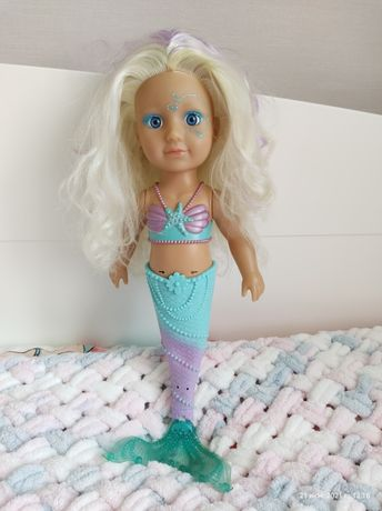 Интерактивная кукла Zapf Baby Born Сестричка-Русалочка 32 см