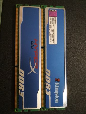 Kingston Hyperx Blu 2x2 GB DDR3 1600 MHz CL9