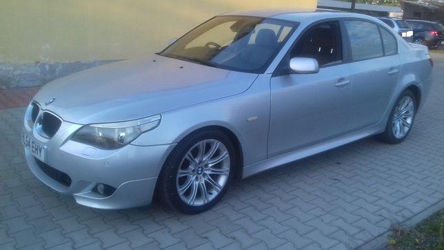BMW e60 M-Pakiet cała na części Titansilber 354/7