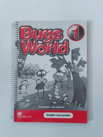 Nowa! Książka nauczyciela BUGS WORLD 1 Macmillan Testy sprawdziany