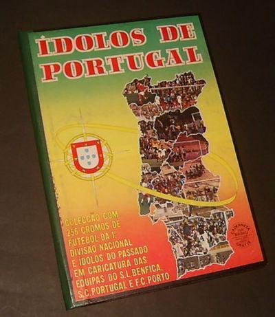 Caderneta IDOLOS de PORTUGAL (1980/81)