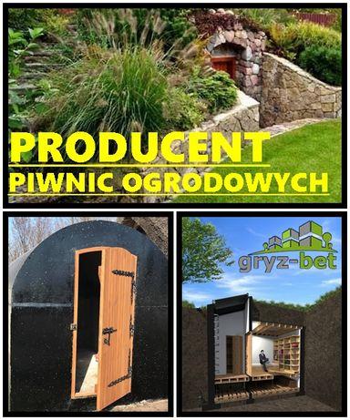 Piwniczka ogrodowa Spiżarnia betonowa Piwnica Retro Szczelna Orzysz