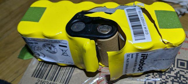 Акумулятор Roomba 530 iRobot почти дохлый :-)