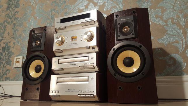 Hi-Fi аудиосистема Premium класса Technics HD series Bluetooth USB MP3