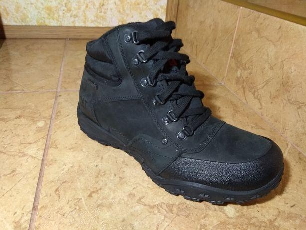 Ботинки CAT ( USA). Waterproof. Гидрофобный нубук. Обрезинка