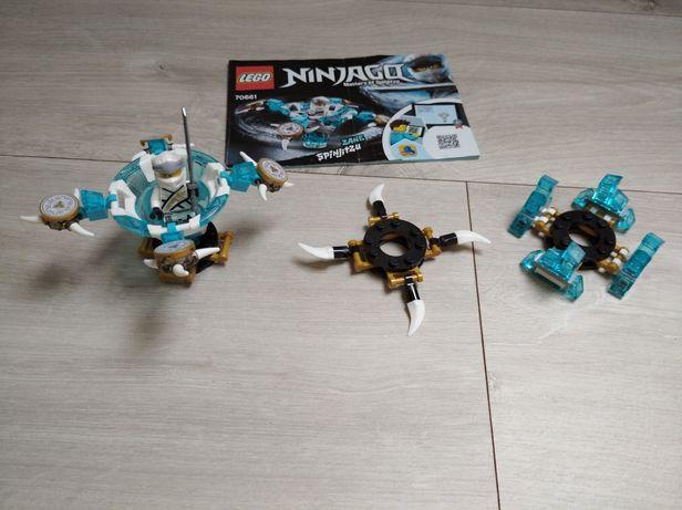 Lego Ninjago Spinjitzu Zane 109El. 70661