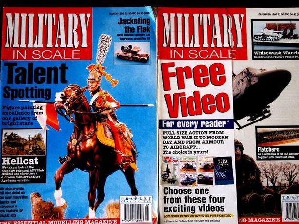 Revistas Military in scale Magazine modelismo 2ª Guerra