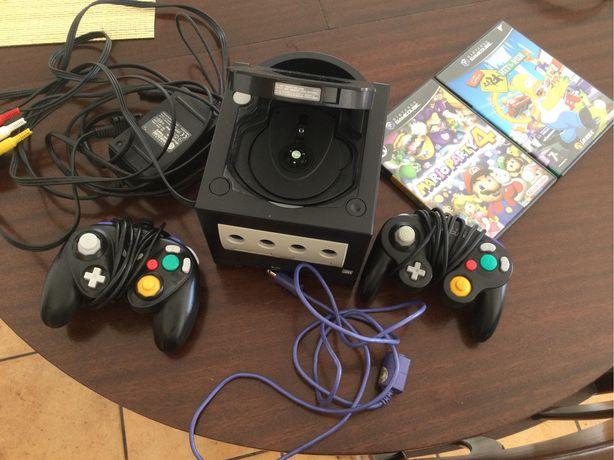 GameClube Nintendo Black + acessórios + jogos