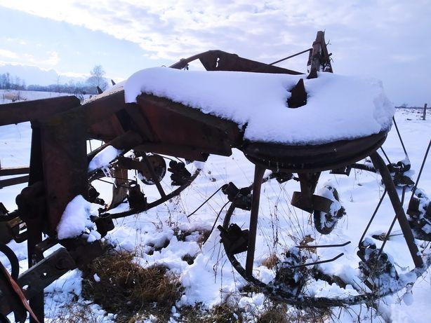 Грабарка, ворошилка радянські до трактора