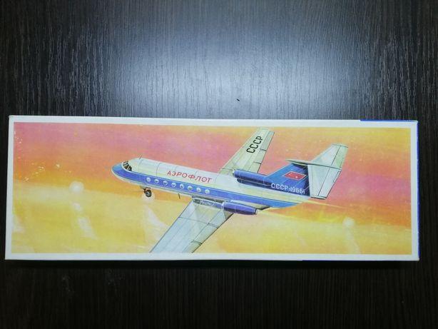 ЯК-40 Plasticart сборная модель самолета Пластикарт ГДР