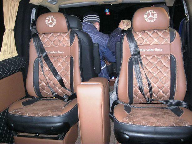 Сидушки в микроавтобус сиденья бус поворотные откидные шаран рекаро