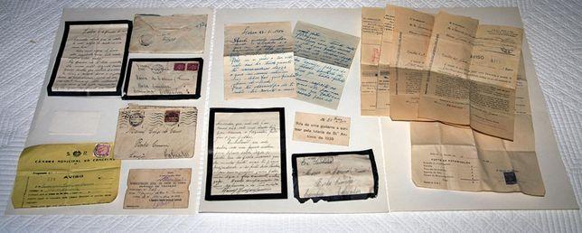2ª Guerra Mundial Salvo Conduto + Documentos + Cartas