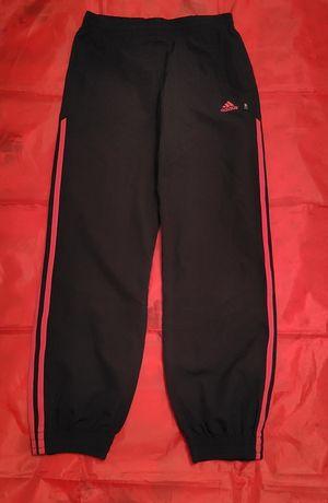 Spodnie dresowe Adidas dresy dziewczęce rozmiar 152 czarne