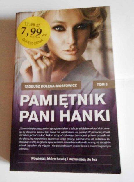 Pamiętnik Pani Hani seria bestsellerów Tadeusz Dołęgi - Mostowicza