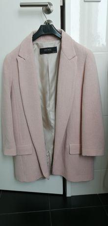 Blazer cor de rosa Zara