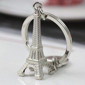 Brelok breloczek do kluczy wieża eiffla Paryż 3D