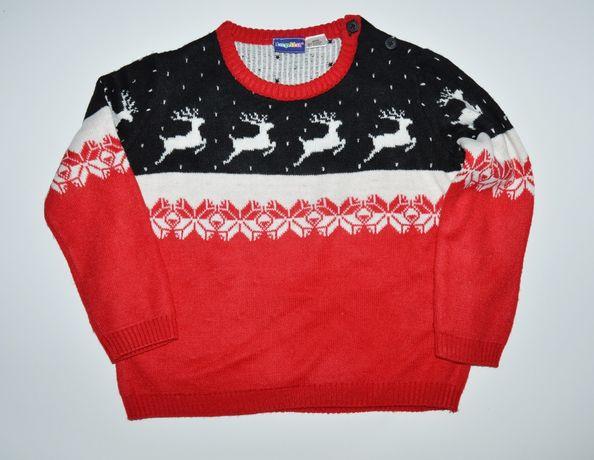 Świąteczny sweterek Lupilu 86/92