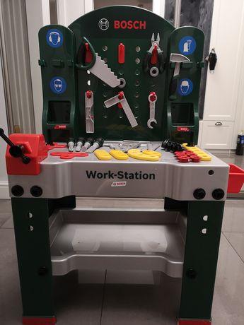 Stół majsterkowicza Bosch z narzędziami, duży