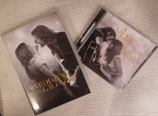 Narodziny Gwiazdy-A Star is Born dvd+cd raz w odtwarzaczu