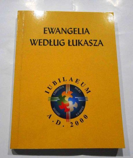 Ewangelia według Łukasza Księgarnia św. Wojciecha Poznań 1999