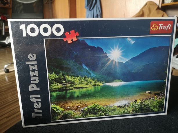 Trefl 1000 elementów - 10202 Nad Morskim Okiem, Tatry