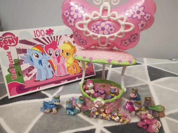Balon z konikami+ puzzle pony