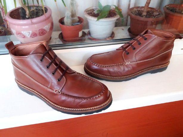 """Дорогие прочные прошитые кожаные ботинки """"Jack Wills"""", Англия, 42 р."""