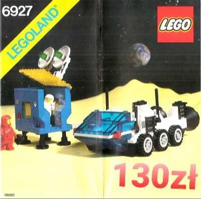 LEGO Space 6927 All Terrain Vehicle