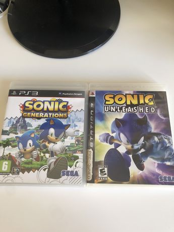 Jogos Ps3 Sonic Generations & Sonic Unleashed