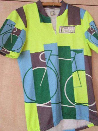 koszulka kolarska+ spodenki