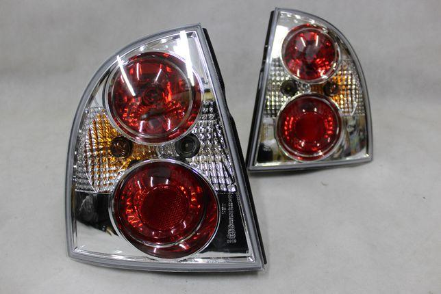 Lampy światła tył tylne VW PASSAT B5 FL Sedan 00-05 CHROME Clear NOWE!