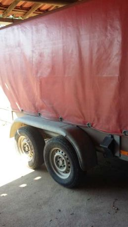 Reboque 2 eixos 2000 kg