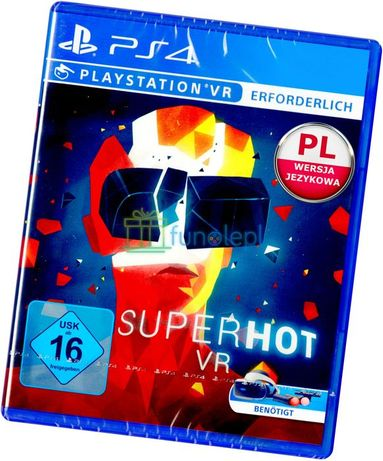 SUPERHOT Super Hot VR MOVE PS4 Nowa Pudełkowa PL