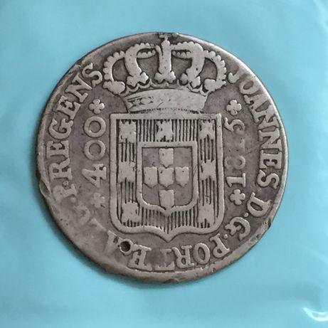 CRUZADO NOVO (480 réis) 1815 - prata - D. João Príncipe Regente