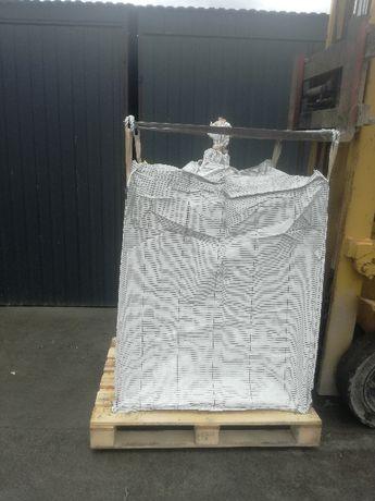 Worki Big Bag Uzywane na Piasek Wapno Cement Gruz wysokość 120cm
