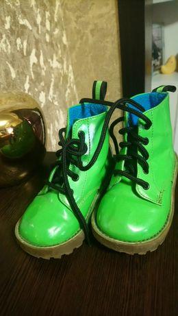 Ботинки деми сезонные 14 см