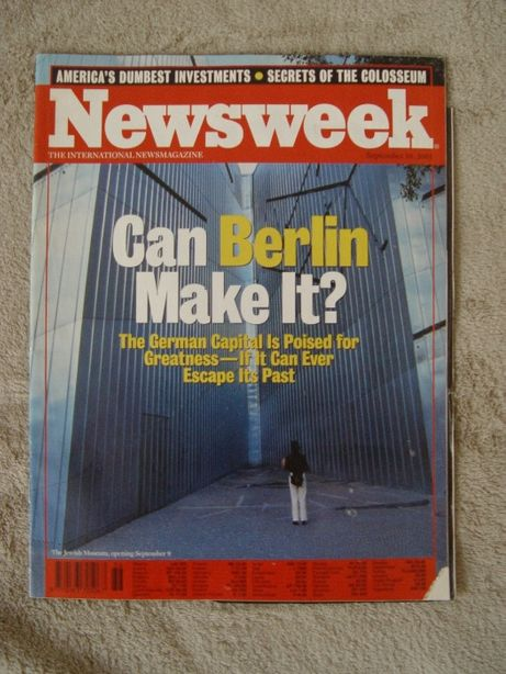 Newsweek tygodnik 2001 rok wersja angielska