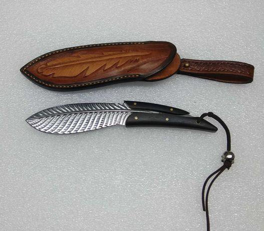 Нож охотничий в форме Пера