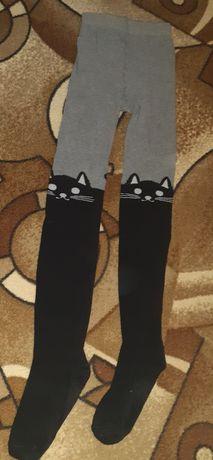 Колготки с котиками