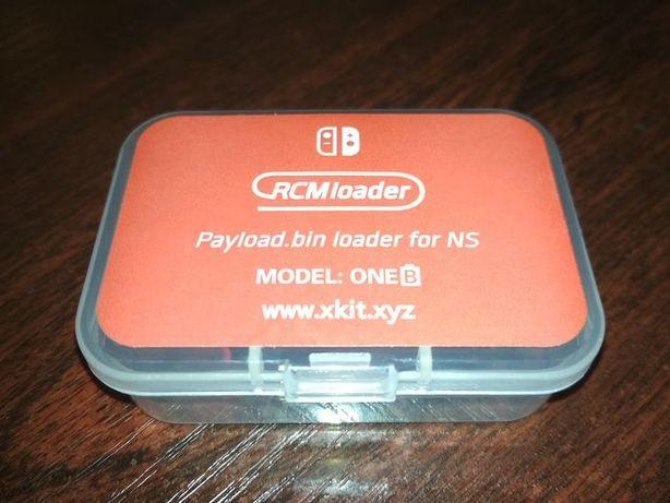 RCM Loader CFW Nintendo Switch + Jig CFW