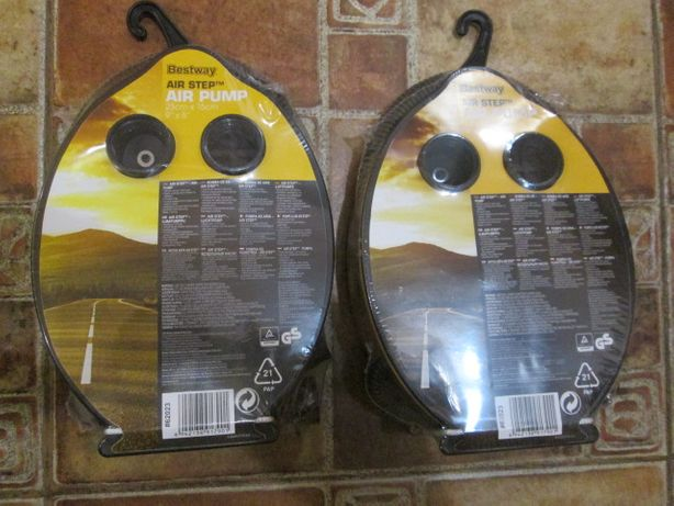 Ножной насос Bestway 23 см *15см новый в упаковке распродажа