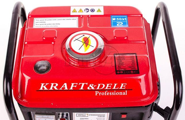 Бензогенератор KraftDEL KD109 2.0кВт генератор бензиновый MAKITSU