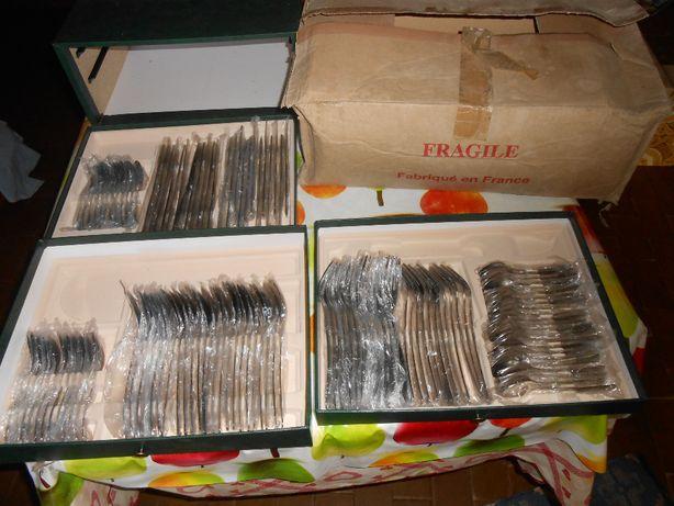 Faqueiro 120 peças Couzon inox ( França ) novo